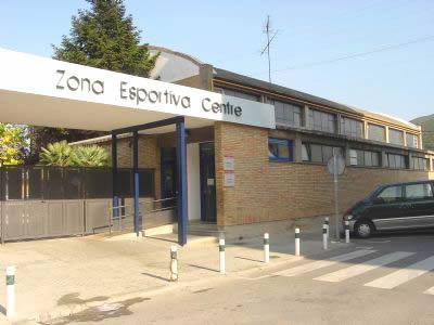 Entrada principal de Zona Esportiva centre